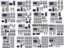 U28 101 Zones GSM PSTN Wireless Home Alarm Security System SMS Call Easy Install
