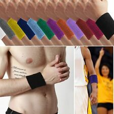 New Unisex Terry Cloth Cotton Sports/Yoga/Workout/Running Sweatbands Wrist Sweat