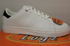 Men's Lugz Crosscourt White/Black With Memory Foam MCROSL-135 Brand New
