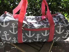 "ANCHOR DUFFEL BAG Camping Overnight Gym Sport Travel Duffle 19 x 9"" NEW"