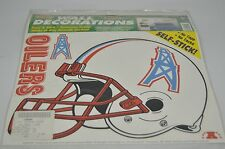 HOUSTON OILERS stickers 1 pack 12 SHEETS GI99