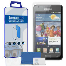 Premuim Tempered Glass LCD Screen Protector For Samsung i9100 Galaxy S2