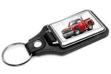 1978 Dodge Lil Red Express Truck Car-toon Key Chain Ring Fob NEW