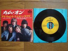"THE ROLLING STONES Come On JAPAN 7"" TOP-1014 $4 Shipping"