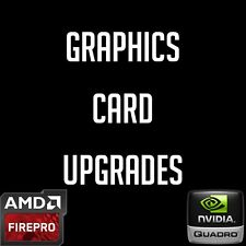 Computer Video Graphics Card Workstation Upgrades