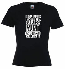 Super Cool Aunt Mum Mom Sister Dad Brother Uncle t shirts Gift ideas for Family