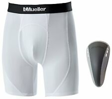 Mueller Adult Athletic Support Short w/ Flex Shield Cup, Multiple Sizes