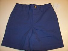 NEW Polo Ralph Lauren khaki chino blue back elastic waist shorts boys 12M 24M