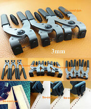 3mm Leather Craft Stitching Hand Chisel Pliers Pricking Iron Nippers 1/2/4 Prong