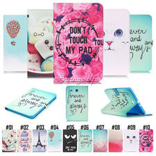 Magnetic PU Leather Folio Flip Stand Case Cover For Apple iPad Samsung Tablet