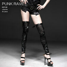 New Punk Rave Rock Goth Stretchy Leather Leg Warmers S137 ALL STOCK IN AUSTRALIA
