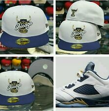 Matching New Era Chicago Bulls 59fifty fitted hat for Jordan 5 Retro Low Dunk