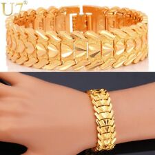 Heart Bracelet Romantic Lovers' Jewelry 2015 Platinum18K Gold Plated Carving Wri