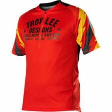 Troy Lee Designs TLD Ace Mens Red and Black Cycling Jersey MTB Mountain Bike