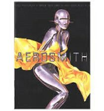 < AEROSMITH - OFFICIAL JUST PUSH PLAY TOUR PROGRAMME 2001- 32 glossy pages