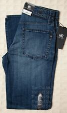 ROCK & REPUBLIC Authentic Neil STRAIGHT Denim Jeans Mens Faded Blue NWT Orig $88