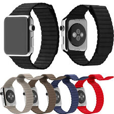 Genuine Leather iwatch Band Loop Type Watch Band Strap For Apple Watch 42mm/38mm