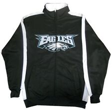 Philadelphia Eagles NFL End Zone Full Zip Mens Track Jacket Big & Tall Sizes