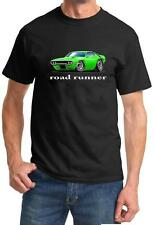 1971 Plymouth Roadrunner Muscle Car-toon Design Tshirt NEW