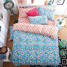 Single Double Queen King Size Bed Set Pillowcase Quilt Duvet Cover Dream O