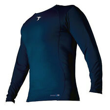 THERMAL BASE LAYER LONG SLEEVED SHIRT (PRECISION TRAINING) - NAVY.