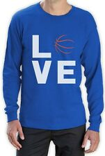 Love Basketball - Cool Gift for Basketball Fans Cool Long Sleeve T-Shirt Novelty