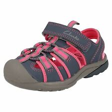 Clarks Beach Tide Grey Combi Synthetic Water Friendly & Machine Washable Sandals