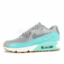 WMNS Nike Air Max 90 Essential [616730-026] NSW Running Wolf Grey/Turquoise