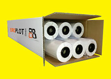 (0,22 €/m²) Plotter paper uncoated 6 Roll 60g/m², 914mm b, 50m l