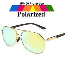 Brand New HD Polarized Sunglasses Retro Classic Designer Mirrored Eyewear UV400