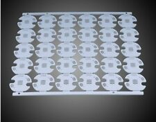 25pcs CREE Alumium Plate 20mm 16mm White/ Black PCB for Cree XML T5 T6 U2 LEDS