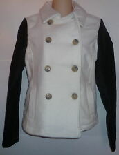 Womens AEROPOSTALE Wool Pea Coat Peacoat Jacket NWT #8591
