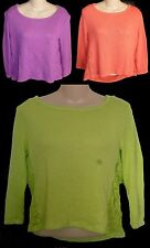 Womens AEROPOSTALE Long Sleeve Lace-Inset Knit Top Shirt Tee NWT #5327