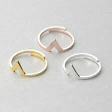 Adjustable V, arrow ring. Midi ring, Finger, thumb ring Gold, Rose Gold, Silver