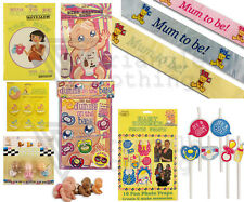 Baby Shower Games Activity Photo Booth Sash Straws Fun Party Game Dummy