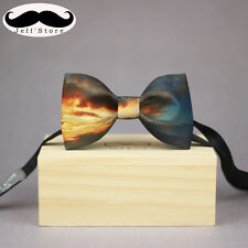 handmade men bowtie Adjustable luxury Tuxedo Party novelty classic dusk gift