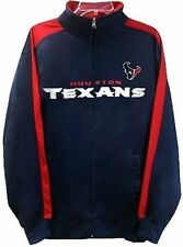 Houston Texans NFL End Zone Full Zip Mens Track Jacket Adult Size Large