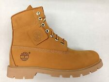 MEN'S TIMBERLAND 6 Inch BASIC NUBUCK WATERPROOF WORK BOOTS WHEAT 10066