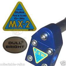Nitto MX-2 Dull Bright Decals Head Stem Gooseneck Sticker Vintage Old School BMX