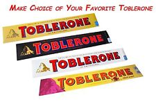 2 x Toblerone ® Chocolate Bars Many Variations - 200 g / 7.06 oz