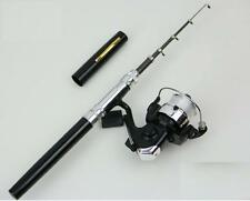 1m Pen Fishing Rod Kids Mini Fishing Rod + Spinning Reel + baits + Line