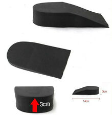 1~3cm Height Tall Elevator Insole Men Women Casual Athletic Shoes Heel Lift Pad