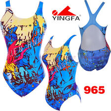 NWT YINGFA 965 TRAINING RACING COMPETITION SWIMSUIT US MISS 2,4,6,8,10,12 ALL Sz