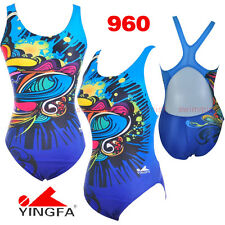 NWT YINGFA 960 TRAINING RACING COMPETITION SWIMSUIT US MISS 2,4,6,8,10,12 ALL Sz