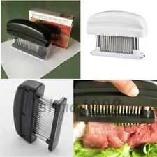 Professional Meat Tenderizer 48 Sharp Stainless Steel Blade  Kitchen Home Tool