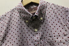 BNWT Scotch And Soda Peach Cotton Shirt - RRP £95.00 NOW ONLY £44.99 Free P + P