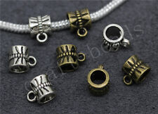 60/300pcs Tibetan Silver Beautiful European Charms Beads Bracelet Craft Hot