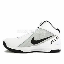 Nike The Air Overplay IX [831572-100] Basketball White/Black-Platinum