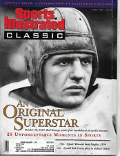 SPORTS ILLUSTRATED-CLASSIC FEATURES RED GRANGE ON THE COVER FROM FALL 1991