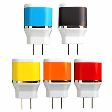 Colorful USB Wall Charger Fast AC USB Adapter Universal + USB Cable